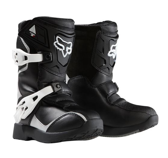 _n1shop-Detske-motokrosove-boty-Dětské MX boty Fox Racing Comp 5K Boot Black-Silver 10