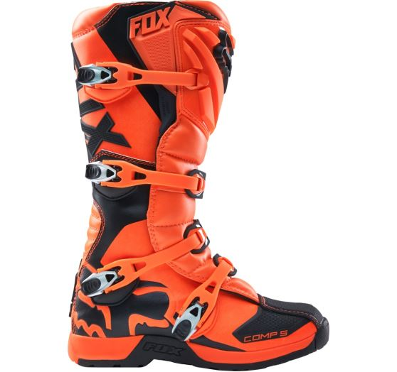 e51d279a3a1  n1shop-Detske-motokrosove-boty-Dětské MX boty Fox Racing Comp 5Y Boot  Orange